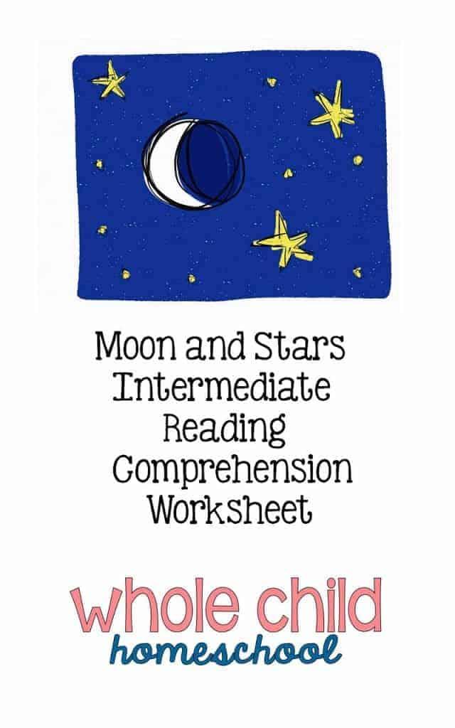 moon stars morning basket