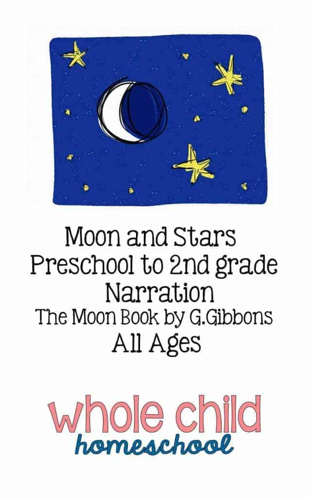 moon and stars narration page