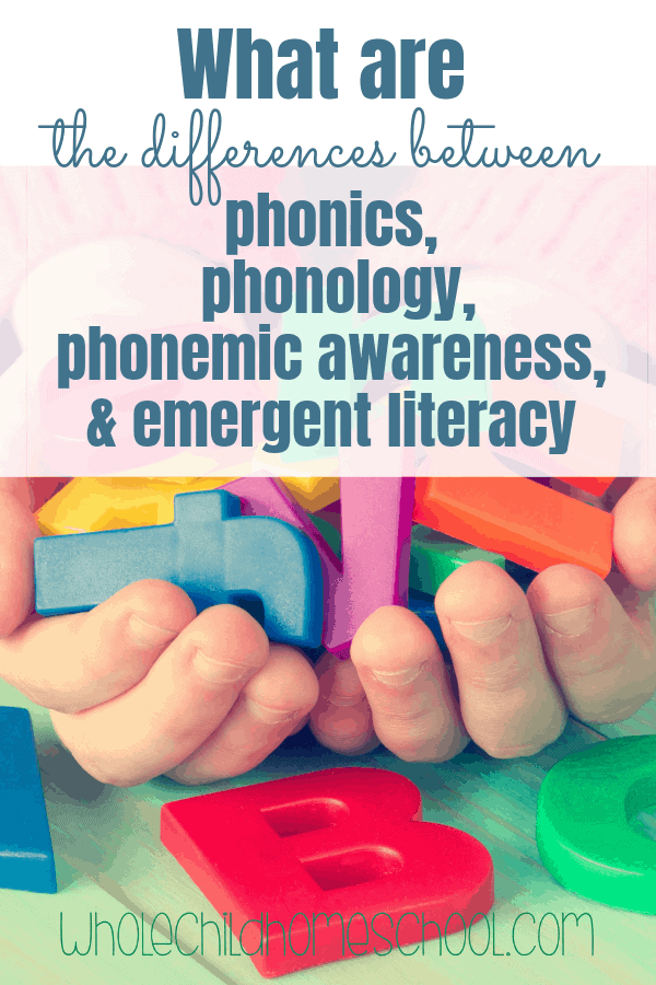 child holding letters in hand wholechildhomeschool.com phonics phonology phonemic awareness
