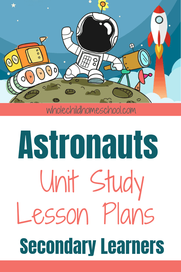astronaut unit study