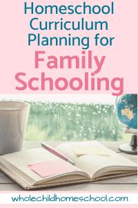 homeschool curriculum plan