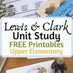 lewis clark homeschool unit study
