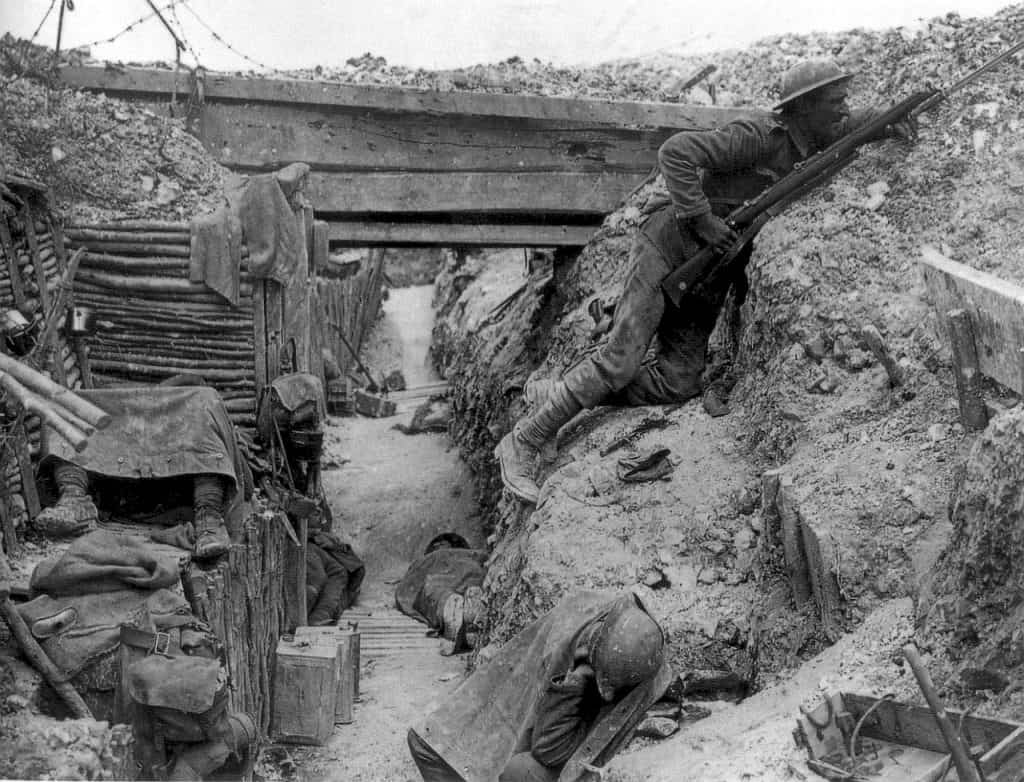 world war I trenches american history