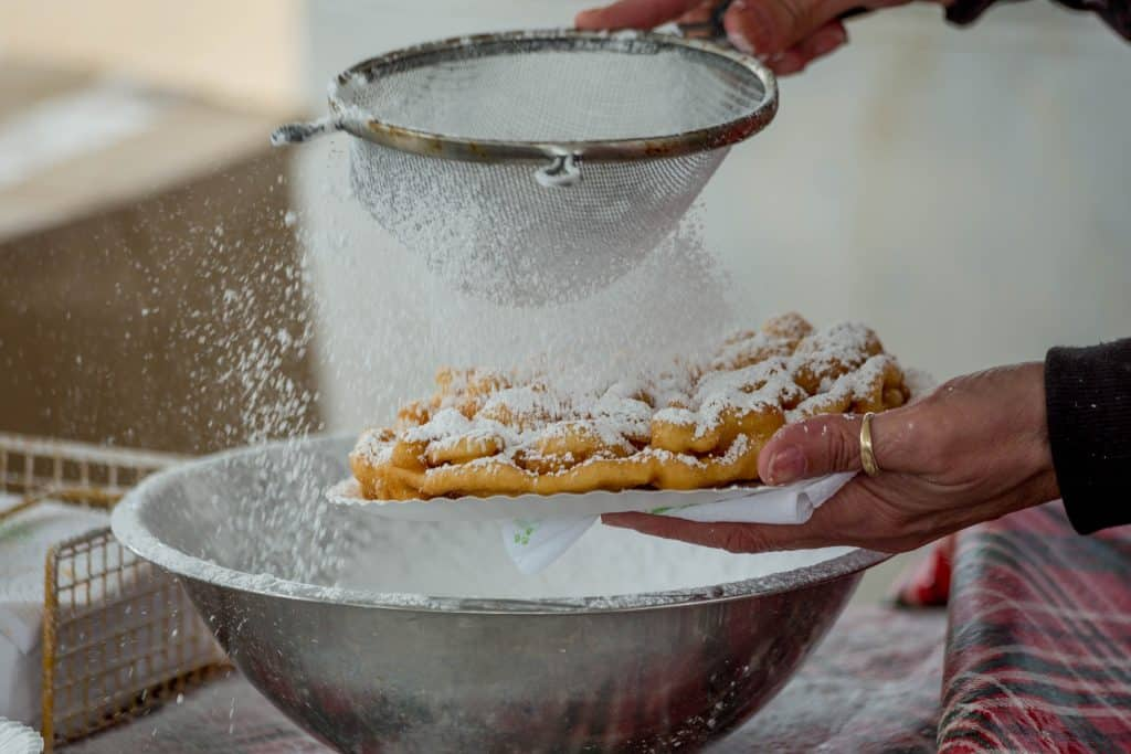 summer funnel cakes