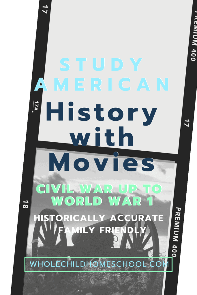 History with Movies pin