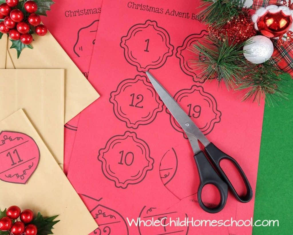 Advent Tree Christmas Traditions