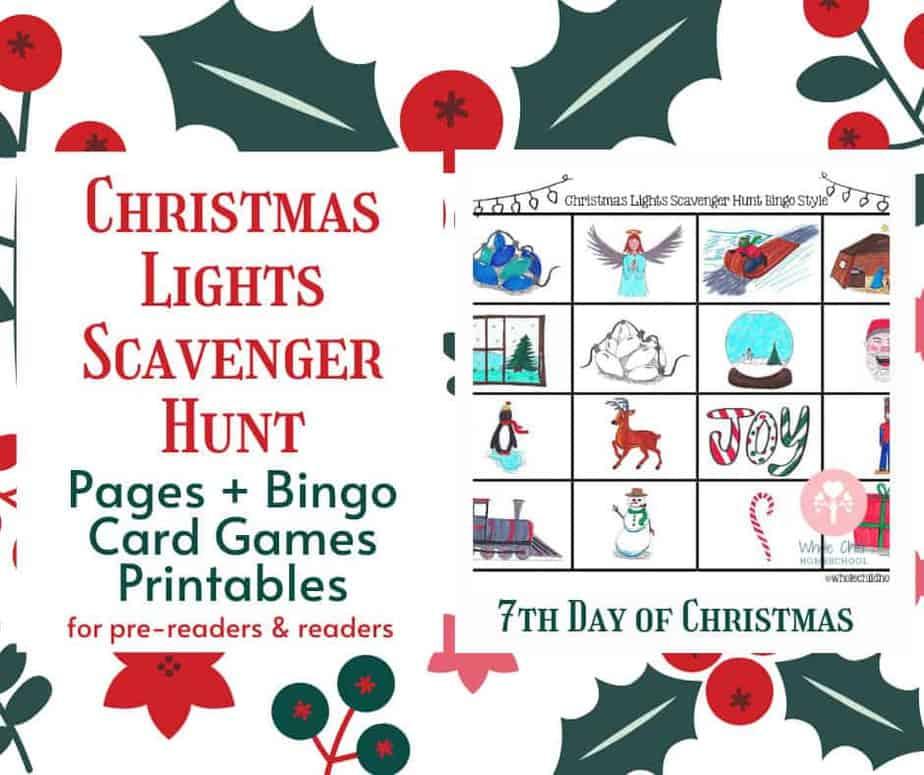 christmas lights bingo