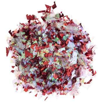 red white christmas confetti crumb mix filler Hobby Lobby
