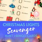 lights scavenger hunt